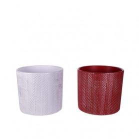 Pots céramique cylindre...