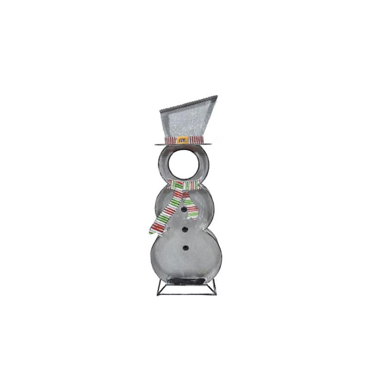 Bonhomme de neige XL Barthélémy - décoration noël