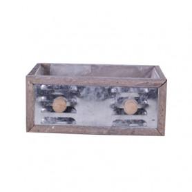 Tiroir bois et métal Ekambi