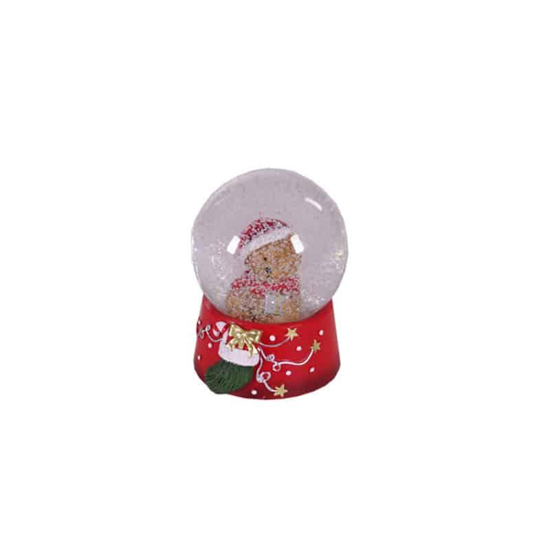 Boule à neige ourson Naito - accessoires noël