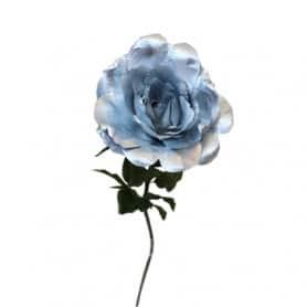 Rose Argent Jouna - Fleurs artificielles