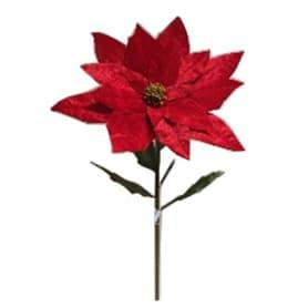 Poinsettia géant Juno - fleurs artificielles