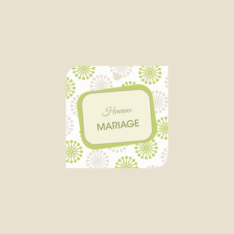 10 cartes de circonstance Heureux mariage - Oasis Grossiste fleuriste