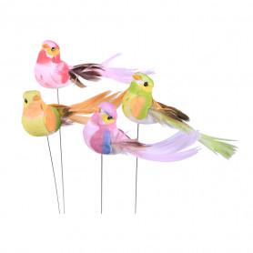 12 oiseaux sur pic Kanfusia