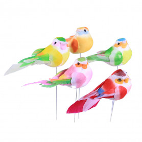 12 oiseaux sur pic Mariako