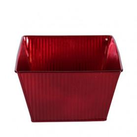 Coupe carrée zinc rouge ou...