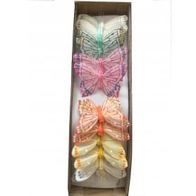 Boîte de 12 papillons...