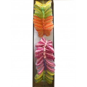 12 papillons à piquer Reese