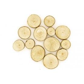 Rondelles bois 2-4 cm