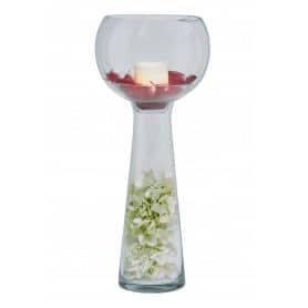 Vase en verre bulbe Dildon - Grossiste fleuriste