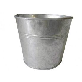 Pot rond zinc Idles