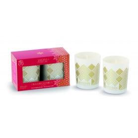 Duo mini bougies Noël...