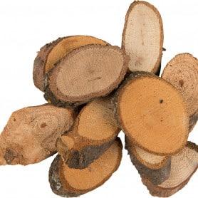 Tranches de bois 40 - 80 mm