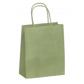 50 sacs kraft vert Amande