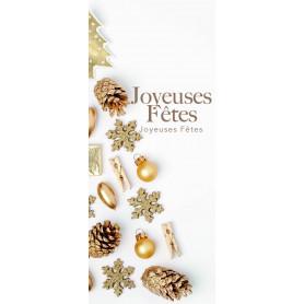 12 cartes de circonstance longues - Grossiste fleuriste décoration