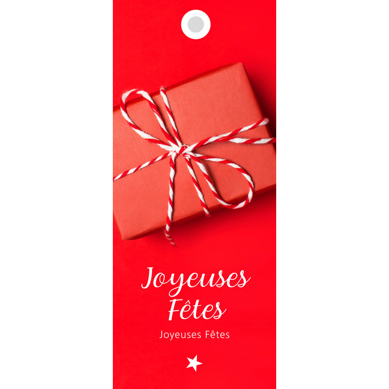 12 cartes de circonstance longues - Grossiste décoration de Noël