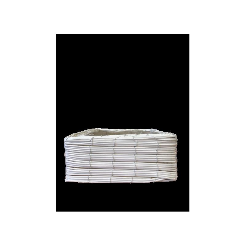 Coupe carrée plastique vannerie - Grossiste cache-pot fleuriste prix