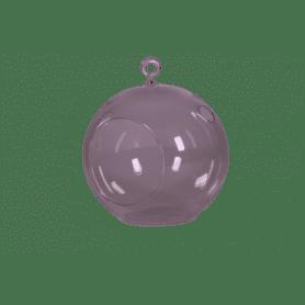 Vase boule en verre à...