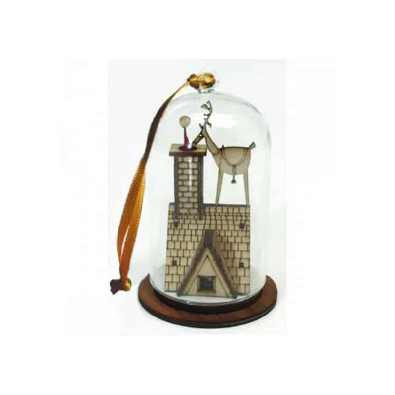 Cloche décorative à suspendre - Grossiste décoration de Noël tendance