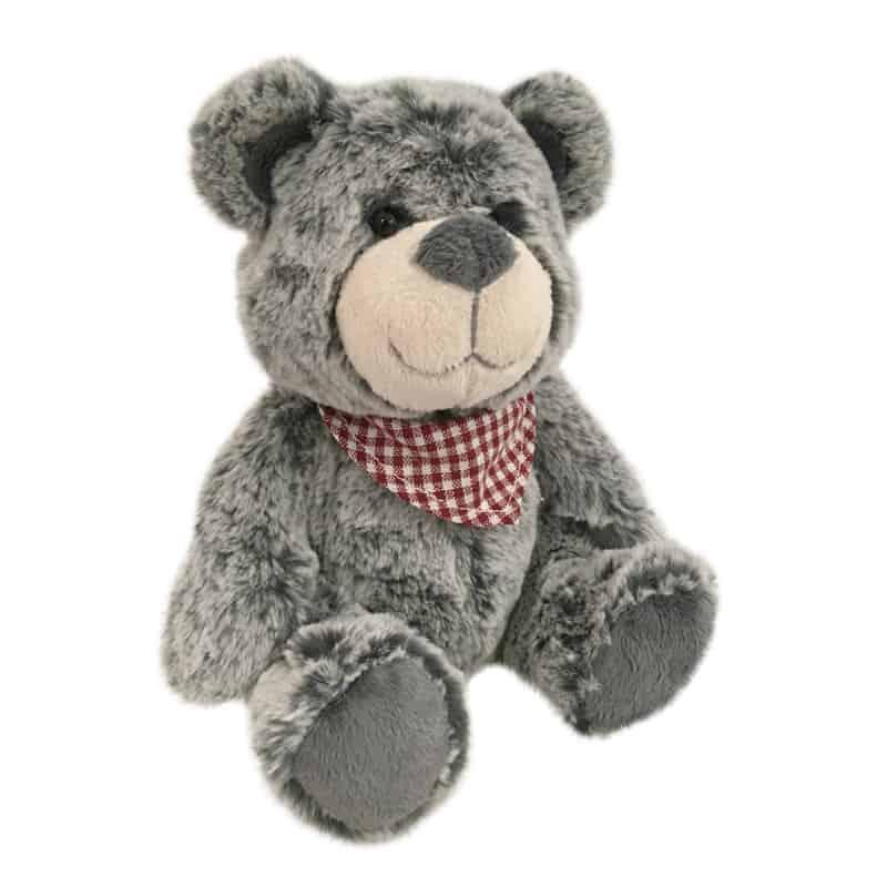 Ours avec foulard Augusto fournisseur peluche