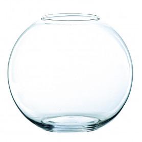 Vase boule en verre Tremelay