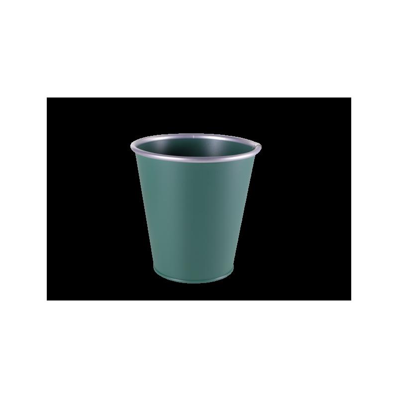Pot zinc Weloel - décoration noel