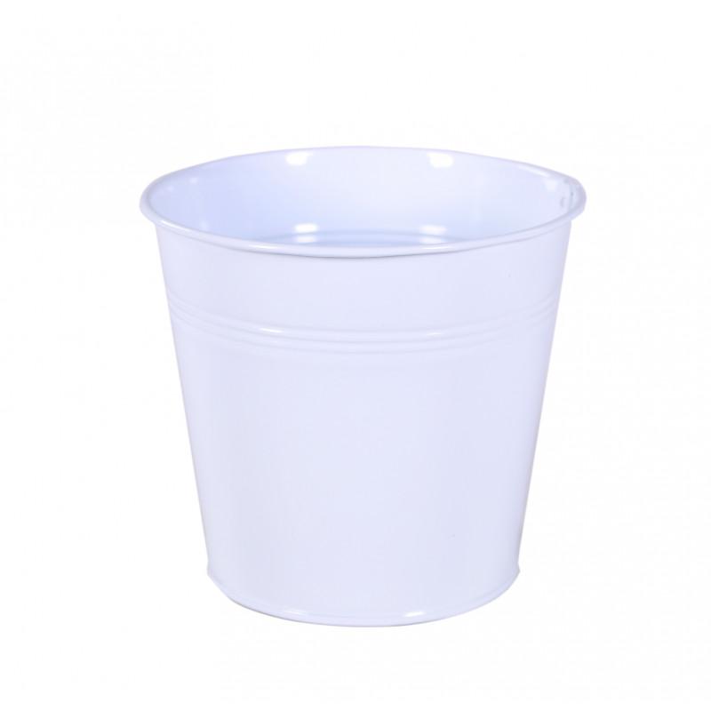 Pot rond zinc Edeu - grossiste fleuriste