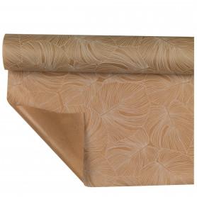 Papier Kraft Pellicule Leaf - emballage fleuriste