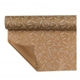 Papier Kraft Pellicule Fogliame - emballage fleuriste
