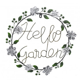 Couronne Hello Garden