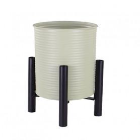 Pot cylindre sur pied Yata - contenant fleuriste