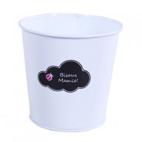 Pot rond nuage bisous mamie