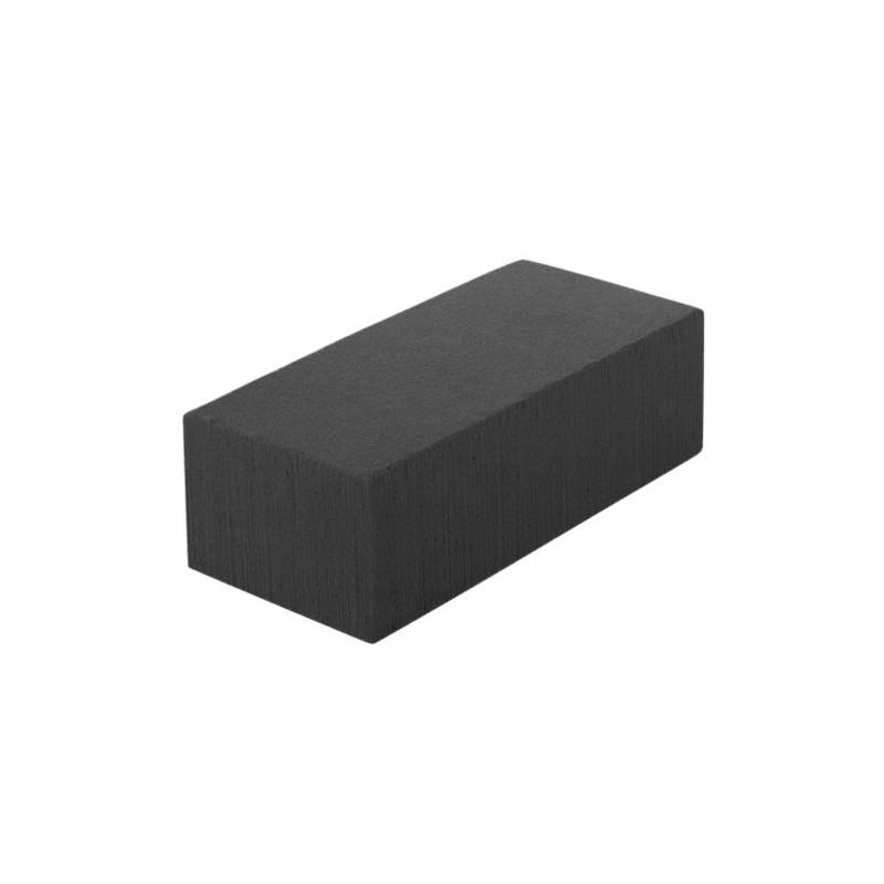 Brique mousse Eychenne Noire - boite de 4 - Mousse deuil grossiste