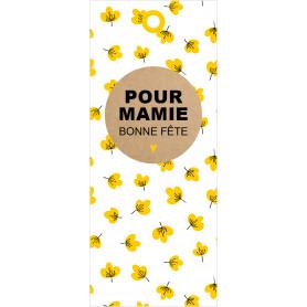 10 cartes de circonstance longues - Grossiste matériel art créatif fleurs