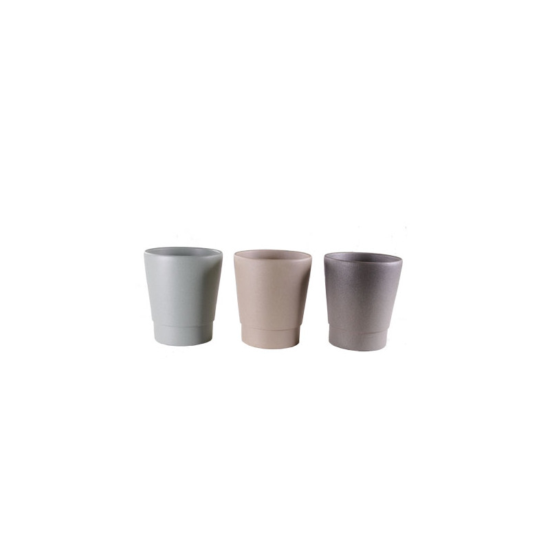 Pot Phalaeno premium naturel- grossiste pot céramique