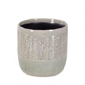 Pot cylindre feuillage Louise - Plusieurs tailles - grossiste fleuriste