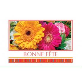 15 cartes de circonstance Bonne fête Manda - Grossiste fleuriste déco