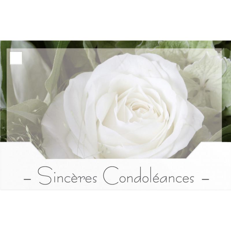 10 cartes de circonstance - Grossiste fleuriste deuil pot de fleurs