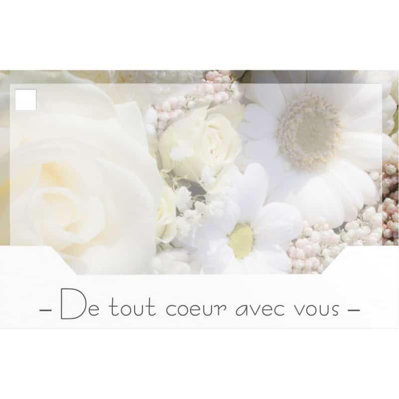 10 cartes de circonstance - Grossiste décoration composition florale