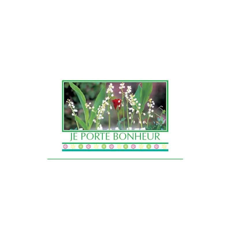 15 cartes de circonstance - Grossiste fleuriste décoration muguet