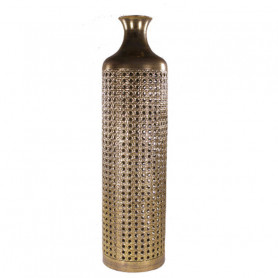 Vase bouteille métal Guila