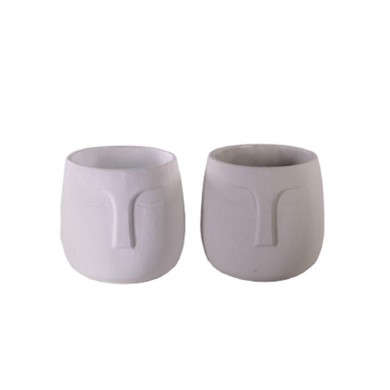Set de pot visage Scotland - Plusieurs tailles - grossiste poterie