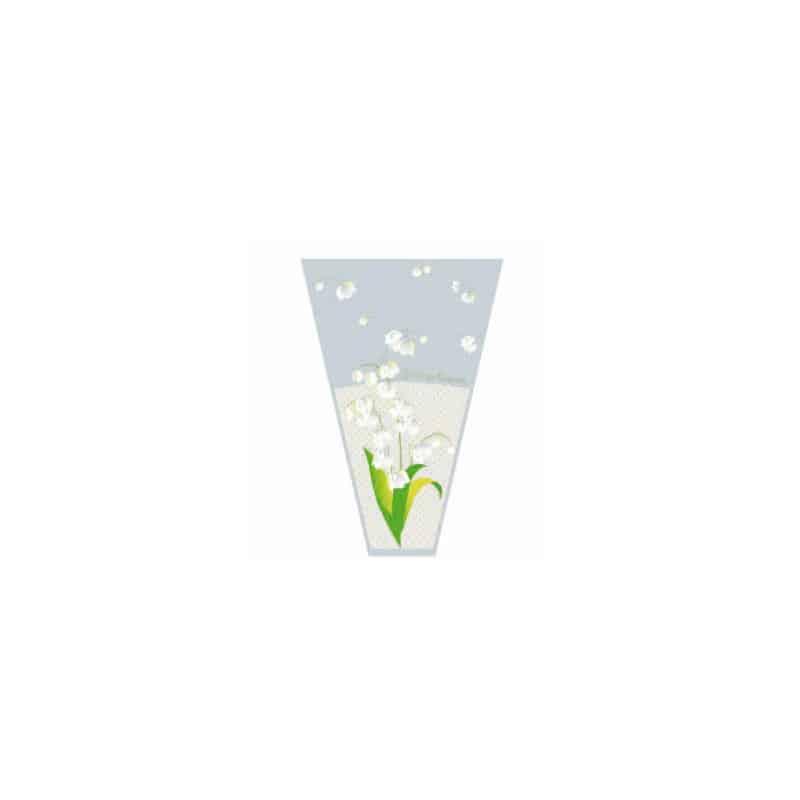 Housse charlotte 43x26x8,5cm - grossiste 1er fleuriste