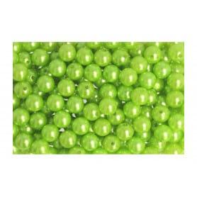 Boîte de perles vert pomme...