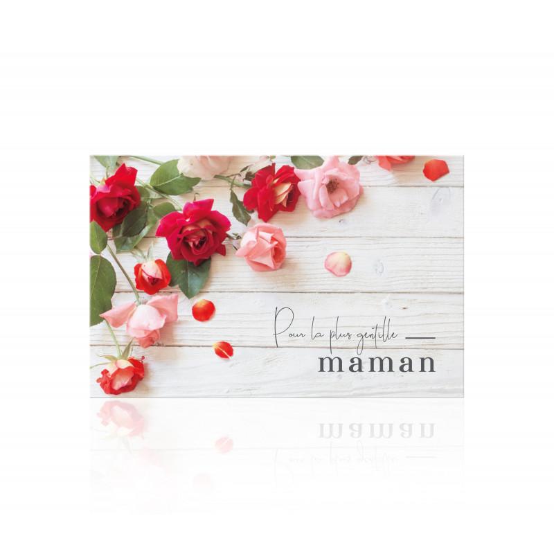"""10 Cartes de circonstances """"Pour la plus gentille maman"""" - Plum- Fleuristerie"""