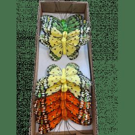 12 papillons sur pic Bresila