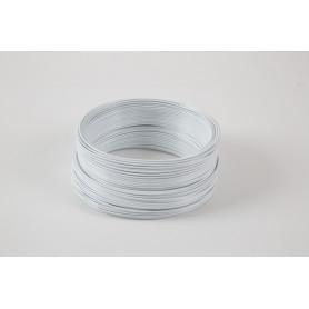 Fil aluminium déco blanc...