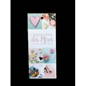 """12 cartes de circonstance longues """"bonne fête maman"""" Lousa"""