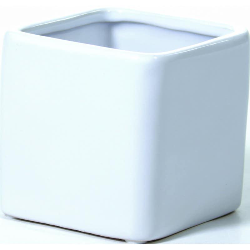 Pot carré Softi - poterie grossiste fleuriste