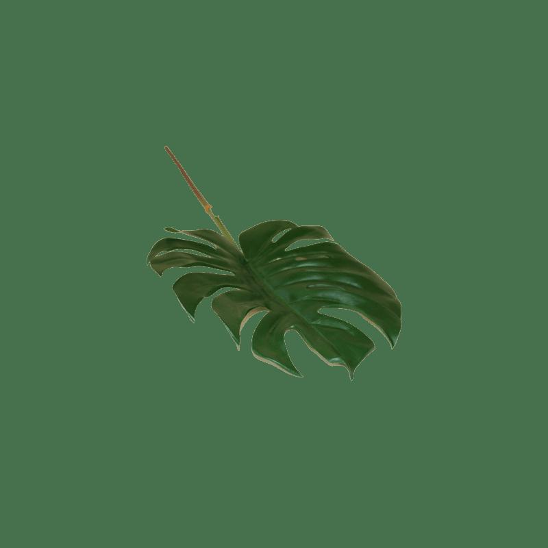 Feuille de Monstera 27cm - grossiste fleurs artificielles